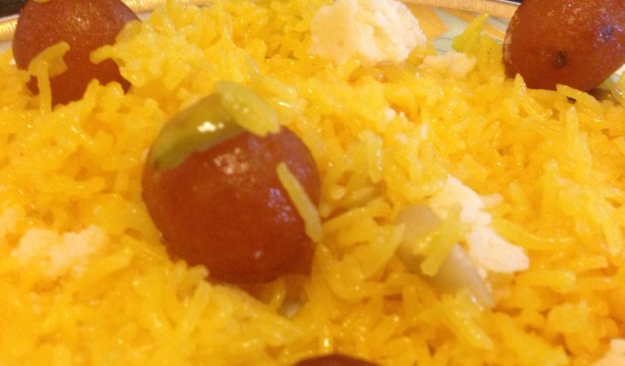 Zarda (Sweetened Rice Dish)